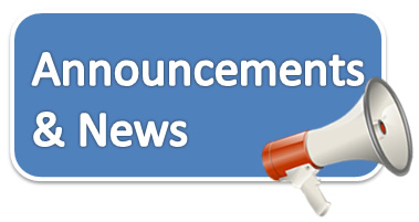 Click to view announcements and news