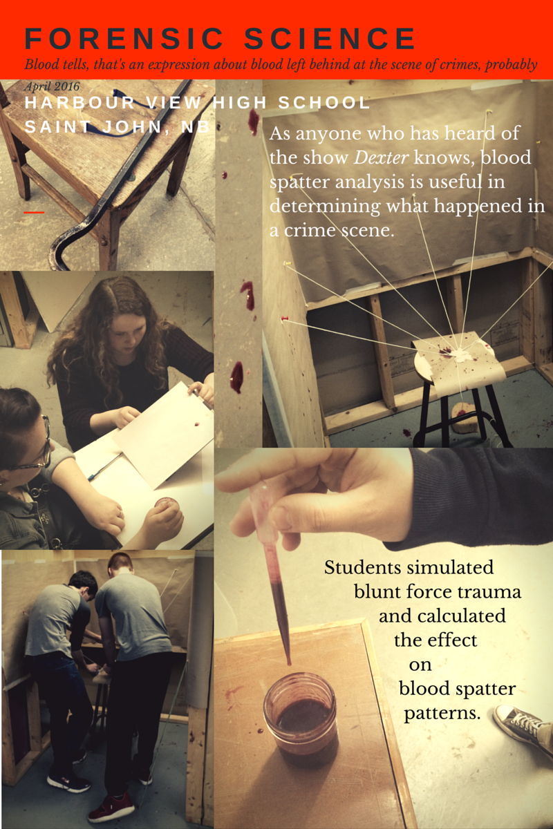 Forensic Science - Bloodstain Pattern Analysis