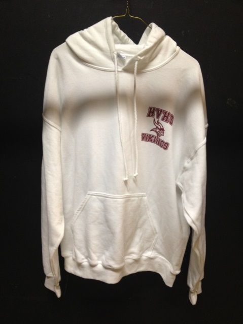Unisex White Crested Sweat Shirt.jpg